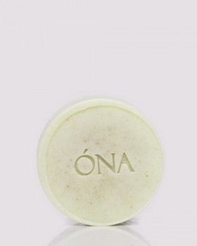 Мило-скраб з зеленою глиною ТМ ÓNA, GREEN CLAY SOAP & SCRUB