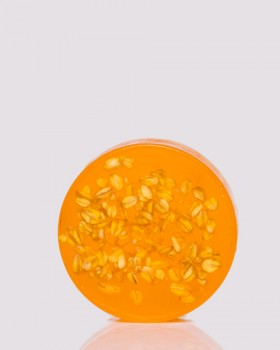 Медове мило з вівсяними пластівцями ТМ ÓNA, HONEY OATMEAL SOAP