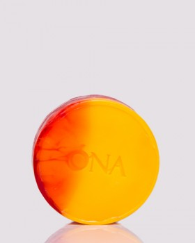 "Натуральне мило ""Персик і абрикос"" ТМ ÓNA, PEACH & APRICOT SOAP"