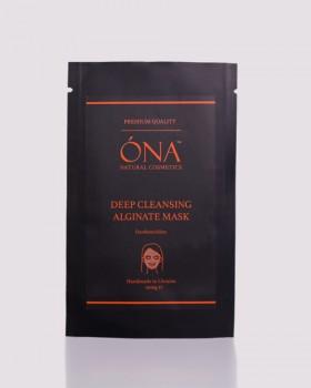 Очищувальна Альгінатна Маска преміум якості ТМ ÓNA, Deep Cleansing Alginate mask