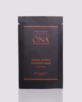 Зволожувальна Альгінатна Маска преміум якості ТМ ÓNA, HYDRA ACTIVE Alginate mask