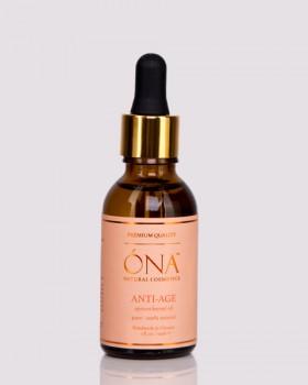 Антивікова олія абрикосових кісточок ТМ ÓNA, ANTI-AGE apricot kernel oil