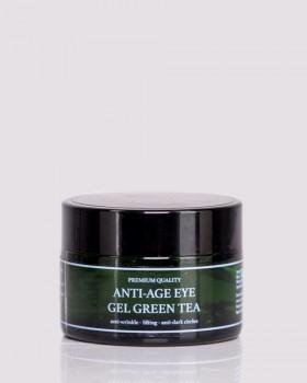 Антивіковий гель-ліфтинг навколо очей ТМ ÓNA, ANTI-AGE EYE GEL GREEN TEA