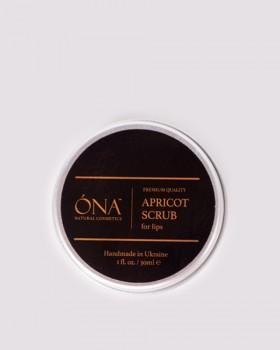 Абрикосовий скраб для губ ТМ ÓNA, APRICOT Lip Scrub