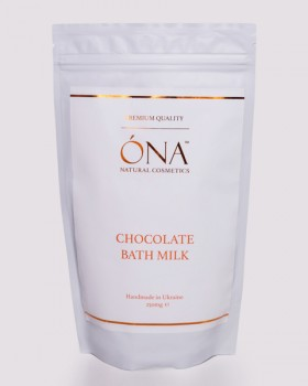 Шоколадне молоко для ванн ТМ ÓNA, CHOCOLATE Bath Milk