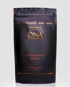 Кавовий скраб для тіла ТМ ÓNA, COFFEE BODY SCRUB