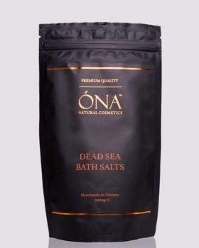 Натуральна сіль для ванн ТМ ÓNA, DEAD SEA BATH SALTS
