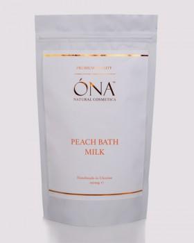 Персикове молоко для ванн ТМ ÓNA, PEACH Bath Milk